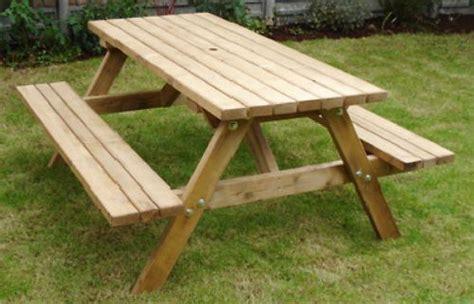 heavy duty wooden britannia  seater picnic table bench