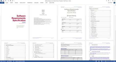 Srs Software Requirement Specification Template by Software Requirements Specification Template