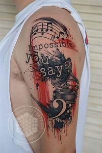 35+ Awesome Music Tattoos - For Creative Juice