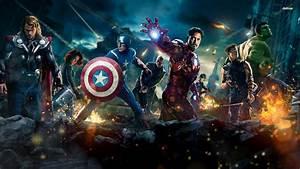 Avengers Wallpaper for Desktop - WallpaperSafari