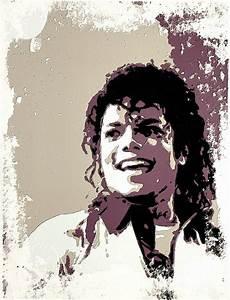 Michael Jackson Portrait Art Painting by Florian Rodarte