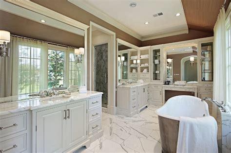 Decorpad Modern Bathroom by 20 Bathrooms With Beautiful Marble Floors