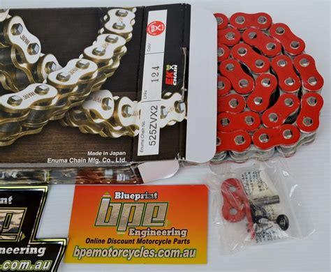 ek xring red  zvx  link ek zvx motorcycle chain blueprint engineering motorcycle services