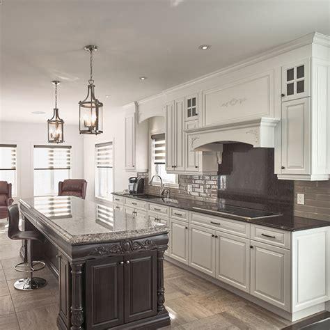 beauregard cuisine cuisine blanche comptoir en bois wraste com