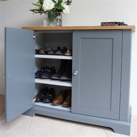 Cupboard Shoes by Ashford Slimline Shoe Cupboard In A Choice Of Colours By