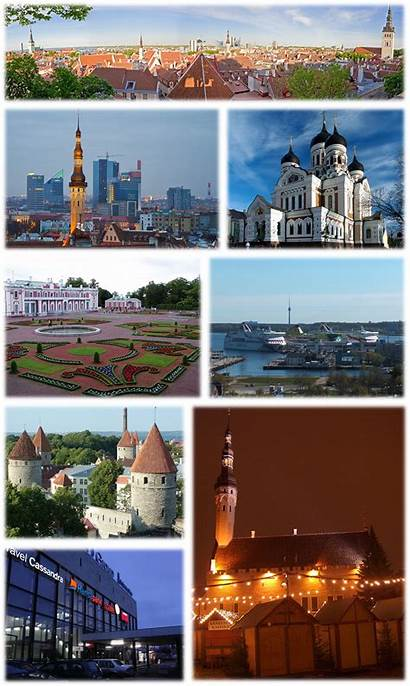 Tallinn Estland Collage Wikipedia