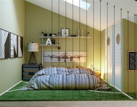 chambre à coucher originale décoration chambre design feria