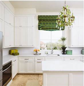 White kitchen with green accents transitional kitchen for Kitchen colors with white cabinets with bed bath and beyond wall art