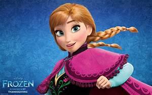 Anna from Disney's Frozen Desktop Wallpaper
