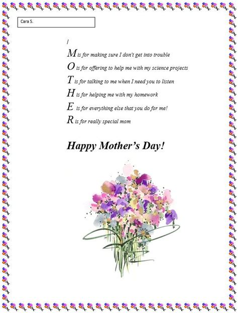 Poems Generator Mother S Day Poem Generator Teach General Stuff