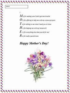 Mother's Day Poem Generator | Teach: general stuff ...