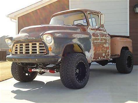 Chevrolet  Other Pickups 3100 1955 Chevrolet 3100 Rat Rod