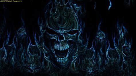 Skull Animated Wallpaper - moving skull wallpapers hd wallpapersafari