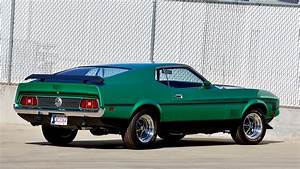 1971 Ford Mustang Mach 1 Fastback SCJ 429/375 HP, Serial No. 28 | Lot F155.1 | Indy 2016 | Mecum ...