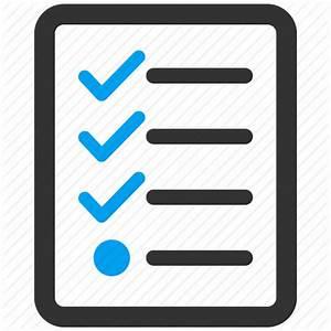 Check, exam, form, invoice, list, report, test icon | Icon ...