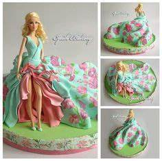 7 best fashionista doll cake images on pinterest doll With gateau robe barbie