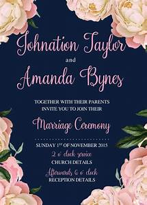 Printable wedding invitation templates wedding for Wedding invitation video creator free