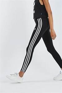 Three Stripe Leggings By Adidas originals - Trousers u0026 Leggings - Clothing - Topshop