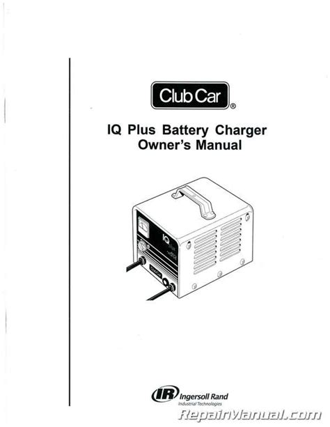club car domestic  export iq  battery charger