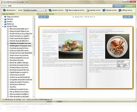 creer un livre de recette de cuisine organizez votre collection cr 233 ez des livres importez des recettes simplement logiciel le