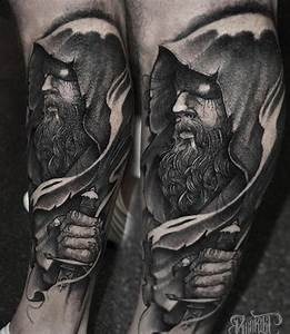 The almighty Hades. First session of a leg sleeve ...