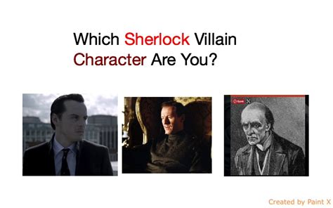 sherlock villain character which