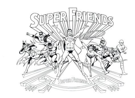 Dc Super Friends Coloring Pages - Democraciaejustica