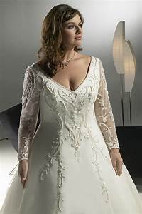 plus size wedding dresses with sleeves With plus size dresses with sleeves formal wedding