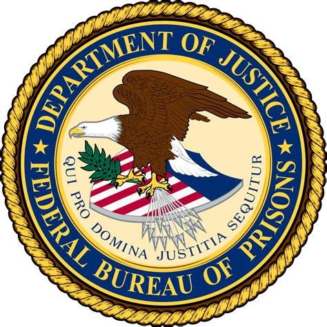 file seal of the federal bureau of prisons svg wikimedia
