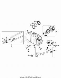 Mtd 24cf50mx783  2015  Parts Diagram For 1x65lu Fuel Tank