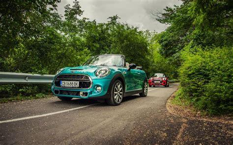Mini Cooper Blue Edition Wallpaper by Mini Cooper Cabrio F57 Cars Blue And Wallpaper Cars