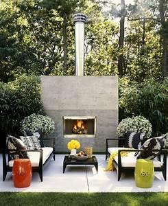 Feuer Kamin Garten : gartenideen bilder die sie gleichzeitig beeindrucken und inspirieren ~ Markanthonyermac.com Haus und Dekorationen