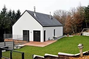 Ossature Bois Maison : fabricant de maisons ossature bois design ~ Melissatoandfro.com Idées de Décoration