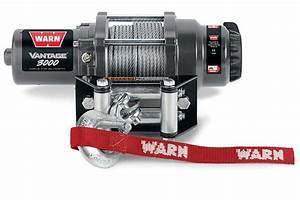 Warn Vantage 3000 Winch - Synthetic Or Steel
