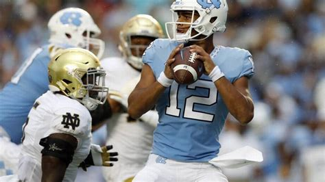 unc tar heels  tar heels football recap oct