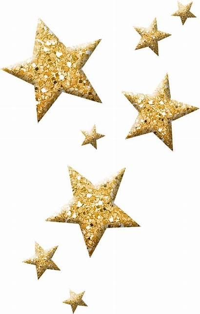 Star Clipart Gold Stars Confetti Christmas Sparkling