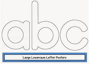 classroom freebies large lowercase letter posters With print large letters for poster