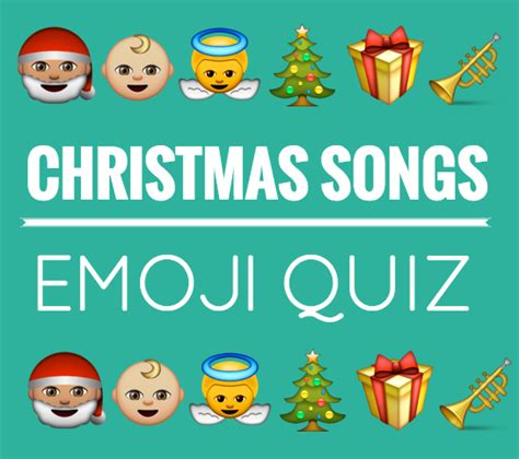 There are clues about the names of 16 famous music bands in the form of emojis and the guests will have to guess. Christmas Songs Emoji Quiz Free download | Emoji quiz ...