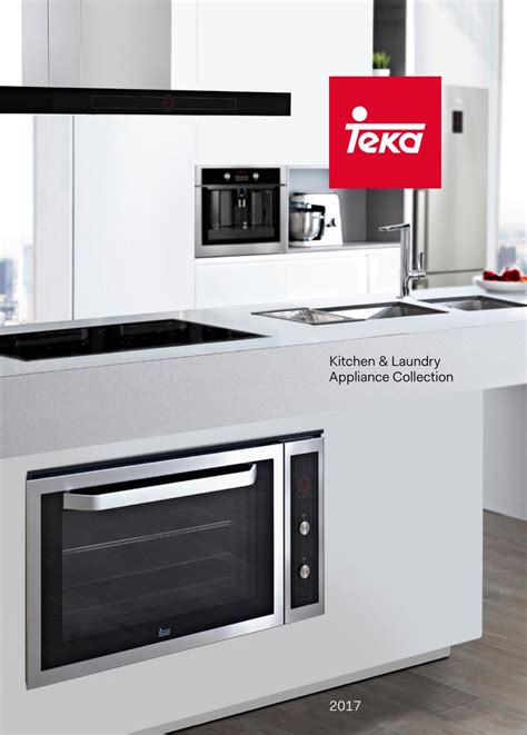 Teka — Kitchen & Laundry Appliance Collection, 2017 By