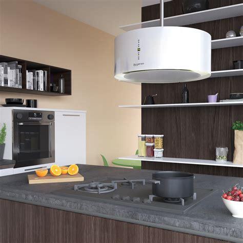 hotte de cuisine design hotte aspirante ilot topiwall