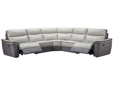canap relaxation cuir electrique canapé d 39 angle relaxation électrique 5 places en cuir