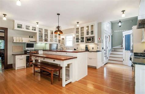 chandelier style table l beautiful kitchen islands with bench seating designing idea