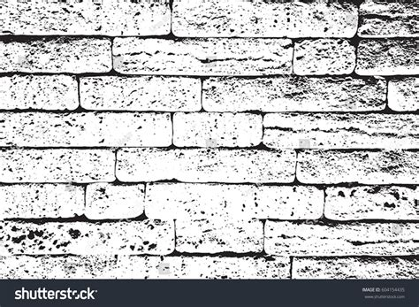 distress brick wall masonry overlay texture stock vector
