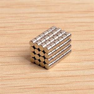 Buy 100pcs N40 D2X2mm Neodymium Magnets Rare Earth Magnet ...