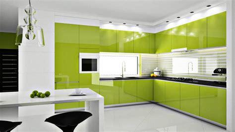 modern green kitchen design ideas modern kitchen design