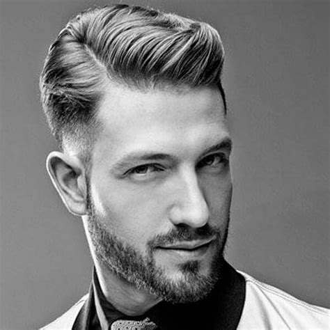 architectural mens undercut hairstyle attractive men
