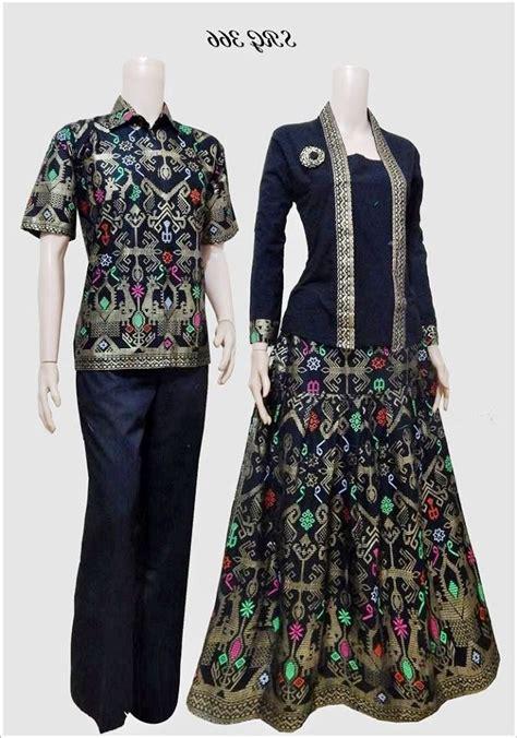 model baju batik gamis sarimbit terbaru gambar busana