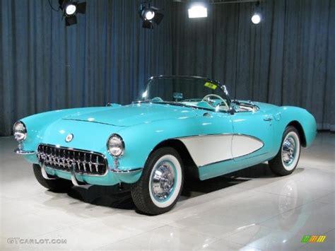 1957 Cascade Green Chevrolet Corvette #12066519 Photo #19
