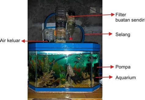 membuat filter aquarium sendiri kuras air selamanya