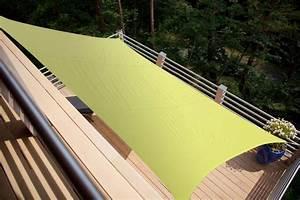 Voile D Ombrage Rectangulaire : voile d 39 ombrage rectangle vert anis 3 00 x 2 00m polyester ~ Dailycaller-alerts.com Idées de Décoration